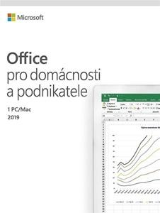 Obrázek Microsoft Office 2019 pro domácnosti a podnikatele
