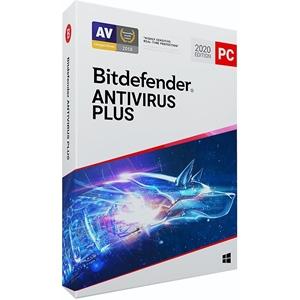 Obrázek Bitdefender Antivirus Plus 2020, licence pro nového uživatele, platnost 3 roky, počet licencí 1