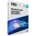 Obrázek Bitdefender Internet Security 2020, obnovení licence, platnost 3 roky, počet licencí 5